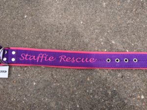 Collier Fleece (Doublé Polaire) Staffie Rescue – Edition 2018