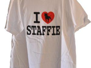 T-shirt homme – I love Staffie