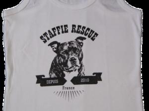Débardeur femme – Logo Saïan 2019 – Staffie Rescue