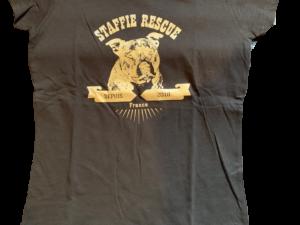 T-shirt femme – logo Saïan 2019 – Staffie Rescue