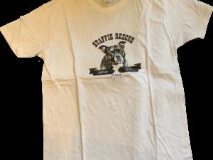 T-shirt homme – logo Saïan 2019 – Staffie Rescue